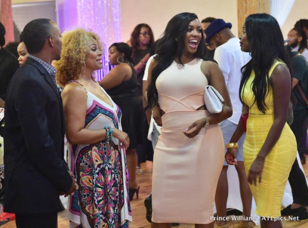 Kenya moore haircare launch