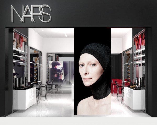 NARS Garden State Plaza Boutique - Store Front Rendering