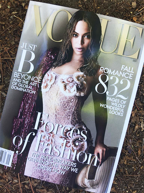 First Look: Beyoncé For Vogue