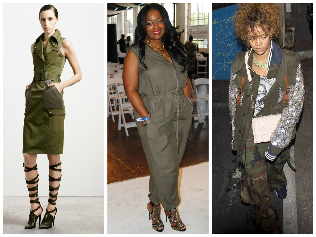 Fashion Trend: Military Chic