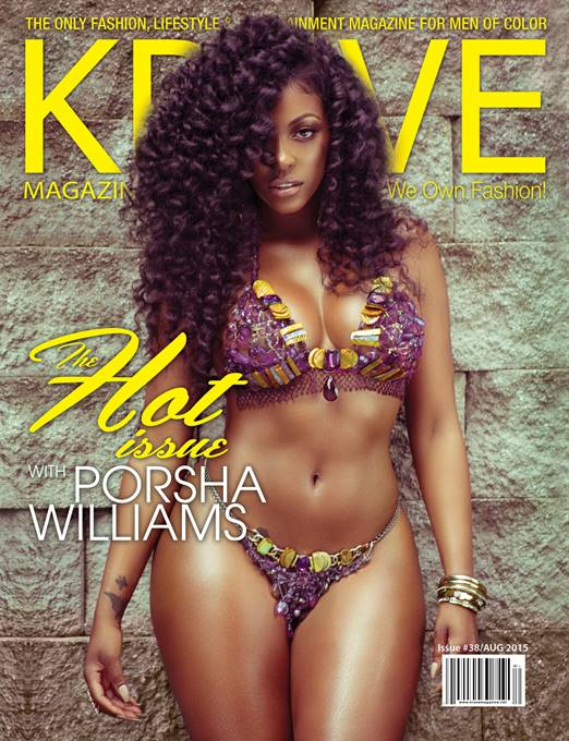 Wardrobe Breakdown: Porsha Williams For Krave Magazine