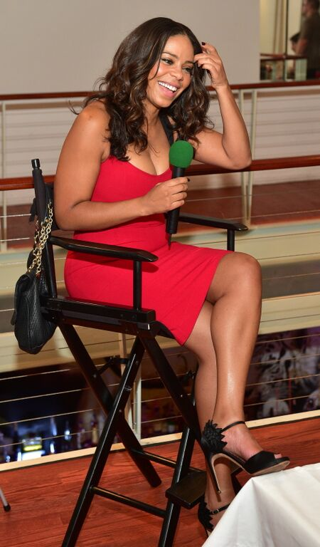 Wardrobe Breakdown: Sanaa Lathan At Atlanta Press Dinner