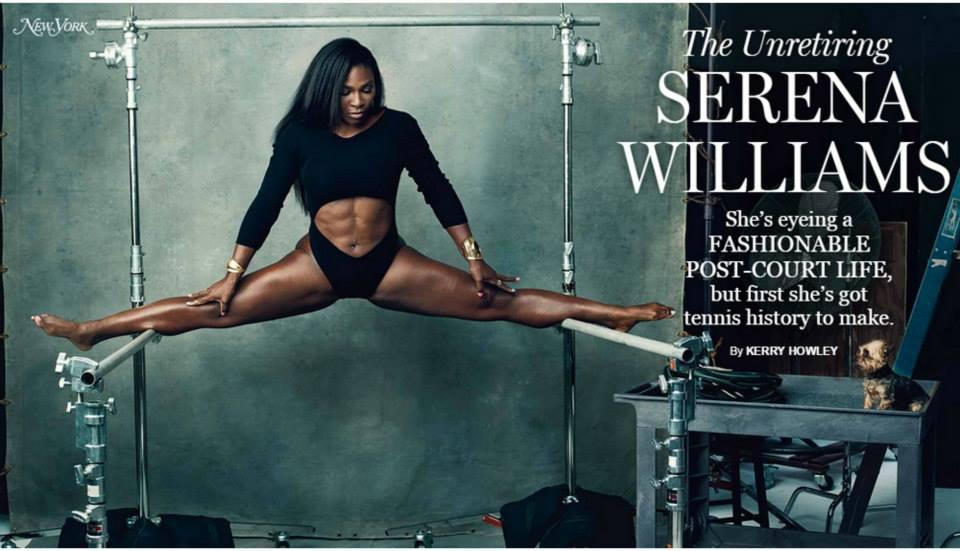 Serena Williams For NY Magazine