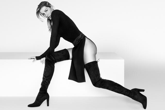 Supermodel Gisele Bündchen Does Electric Slide In Stuart Weitzman Commercial