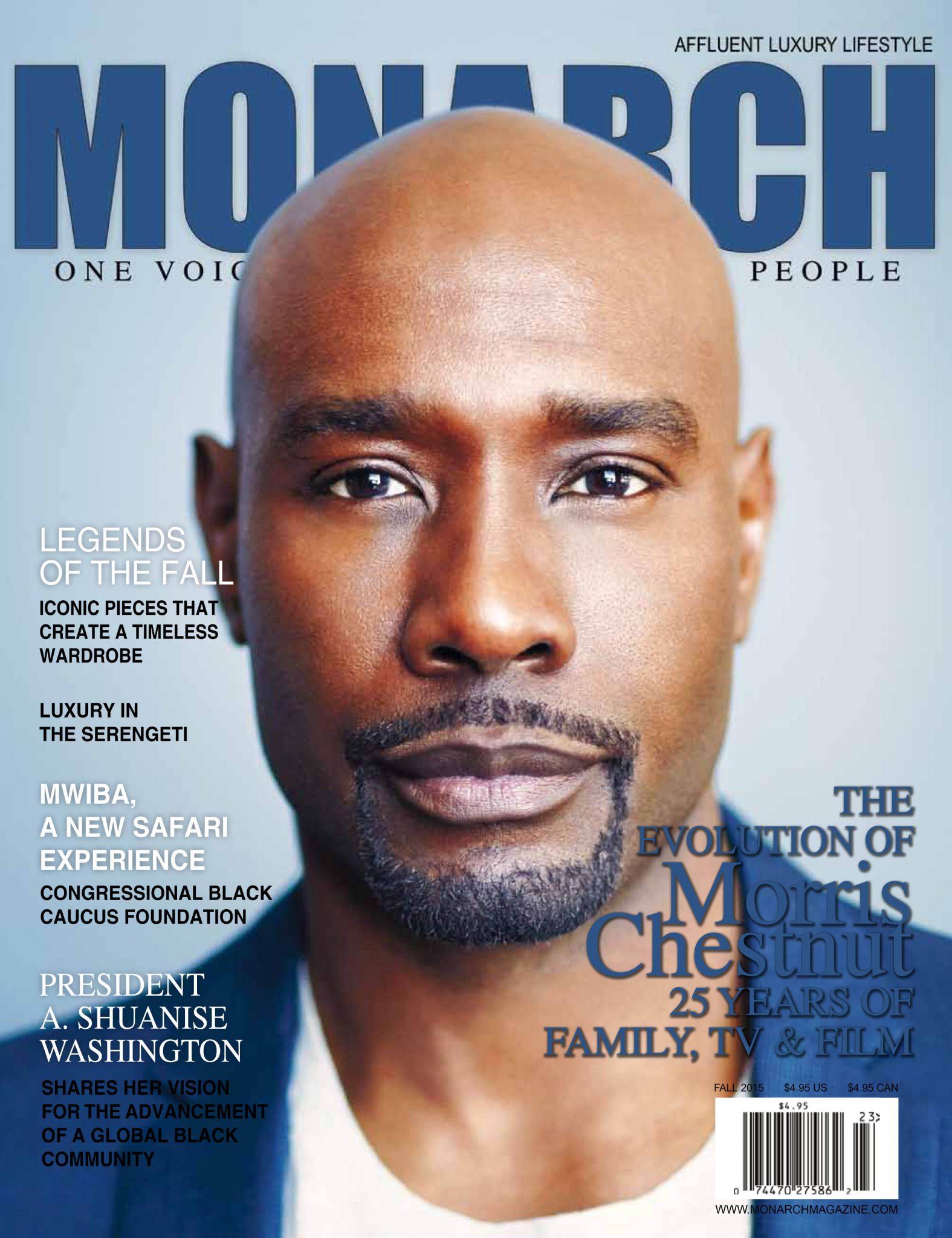 Morris Chestnut For Monarch Magazine