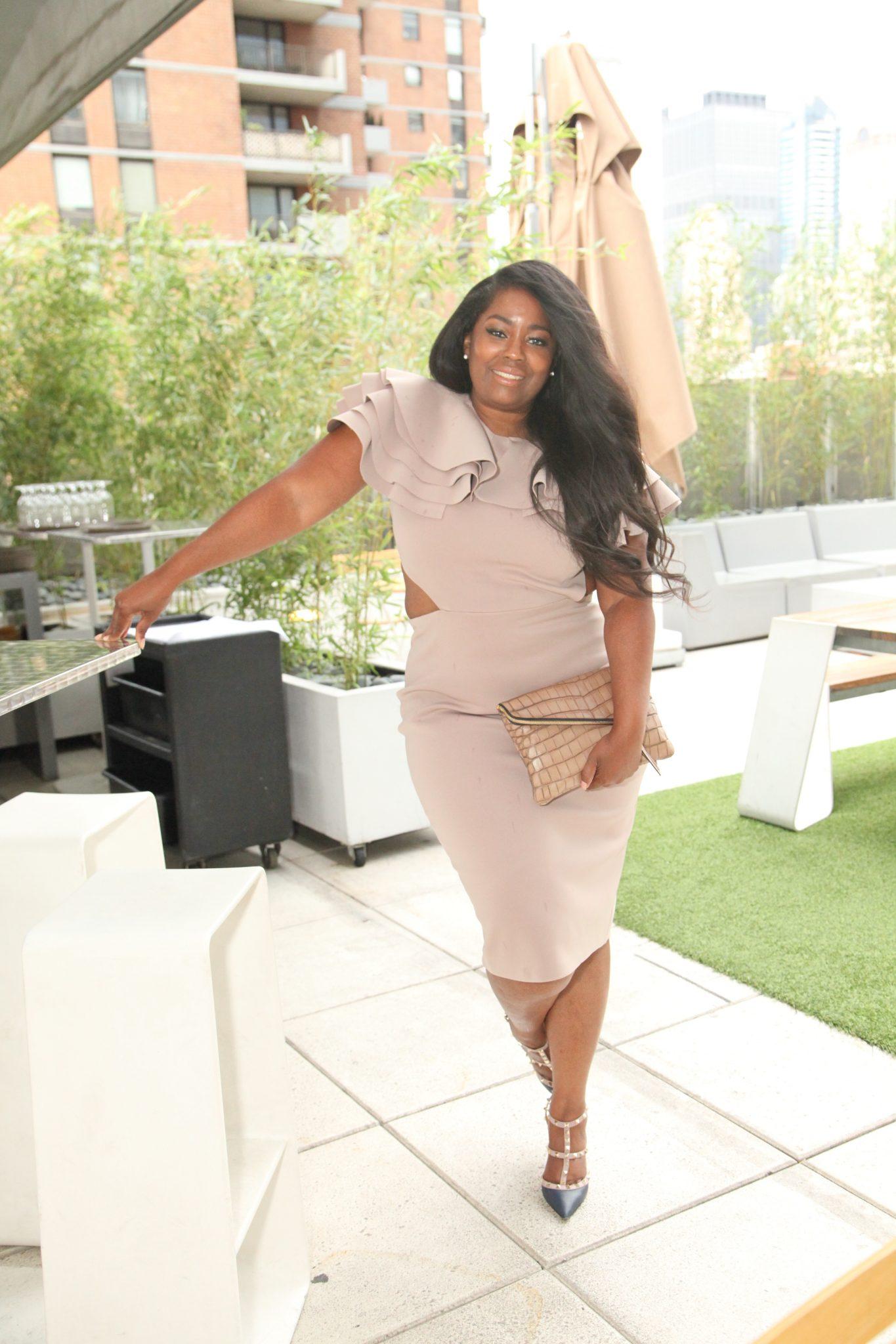 My Style: Wanda Grace Ruffle Dress