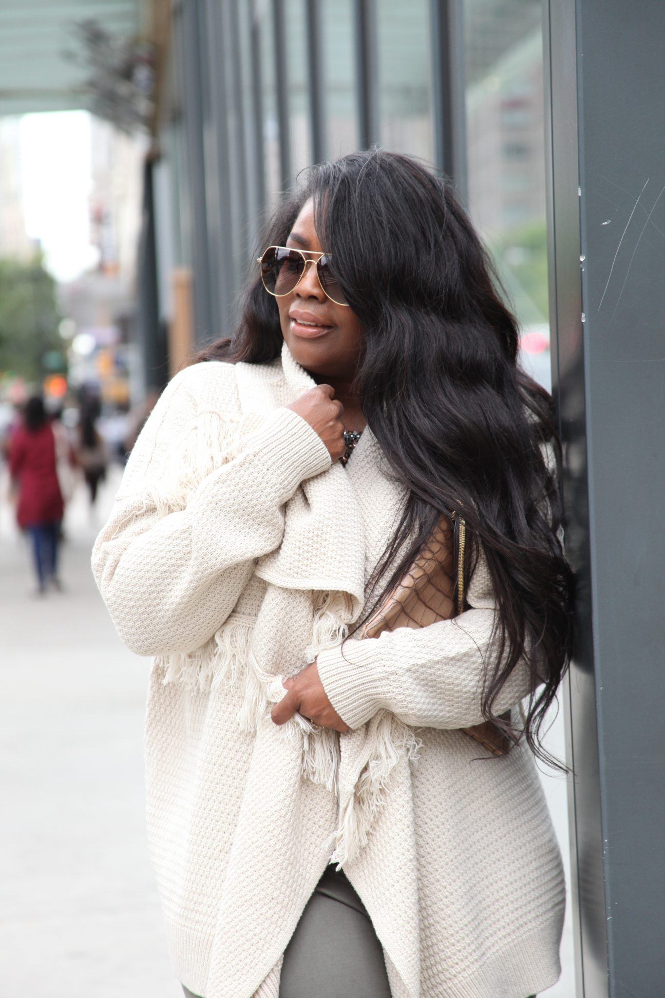 My Style: Fringe Sweater For Fall