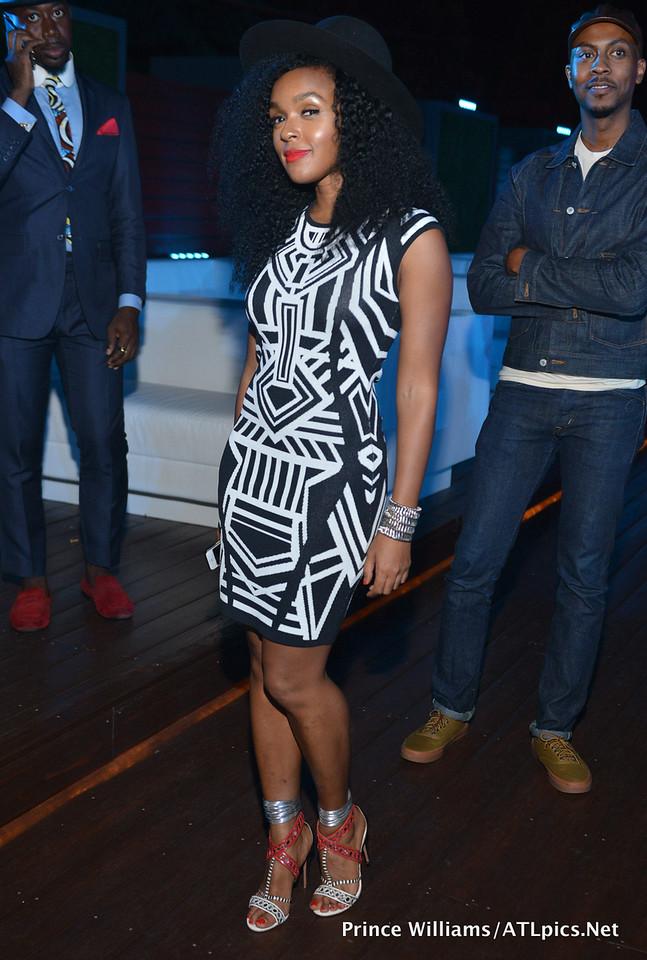 Wardrobe Breakdown: Janelle Monae AT 2 Chainz Mixtape Party