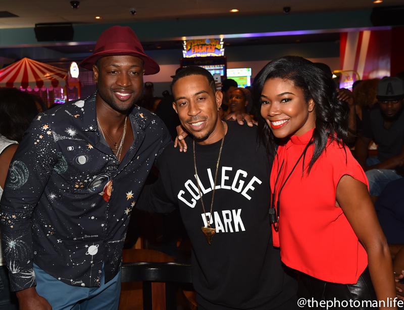 Wardrobe Breakdown: Dwyane Wade At Ludacris Celebrity Bowling Party