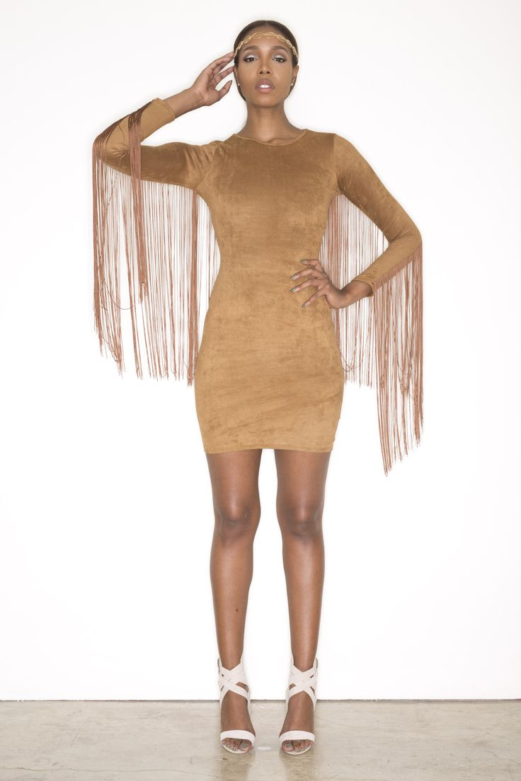 Currently Obsessed With: Swank Blue N.I. Fringe Dress