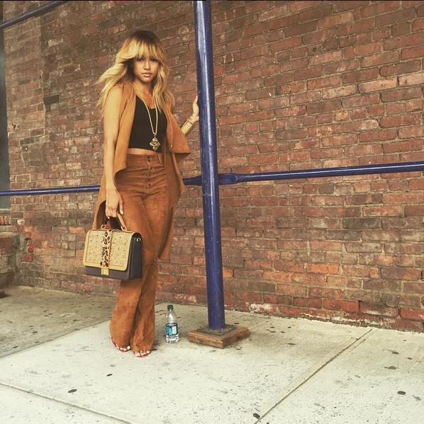 Wardrobe Breakdown: Karrueche Tran New York Fashion Week