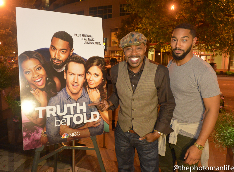 A Night Out With Will Packer & Comedian Tone Bell For NBC's New Comedy 'Truth Be Told'