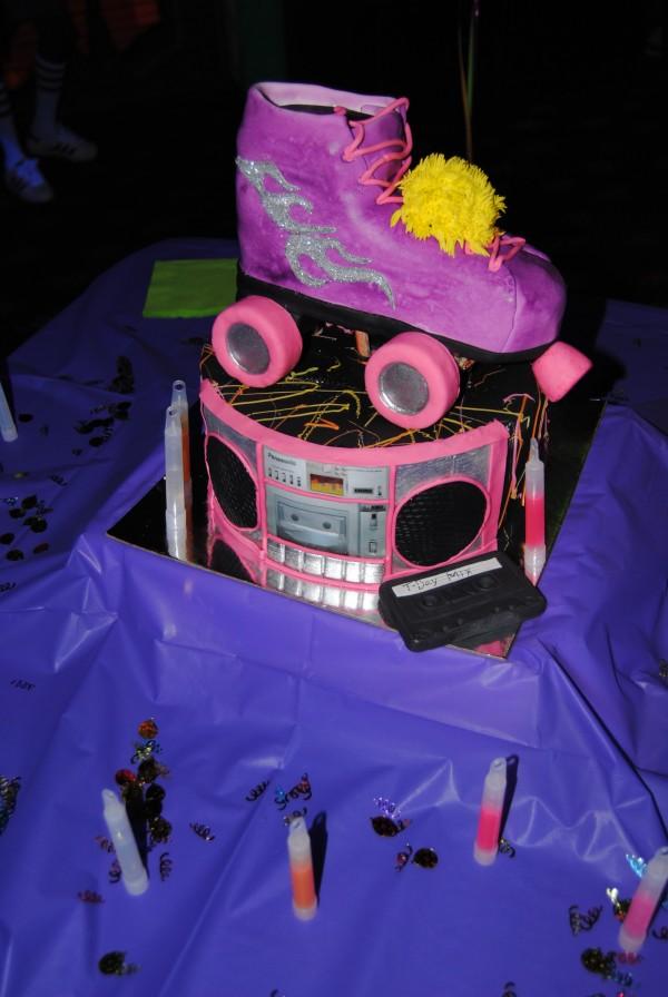 Toya Wright Throws 80's Style Rollerskating Birthday Bash!
