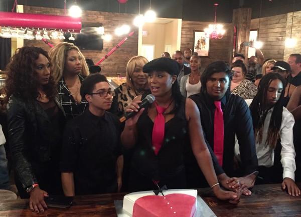 Trina Braxton's Grand Opening Of 'Bar Chix'