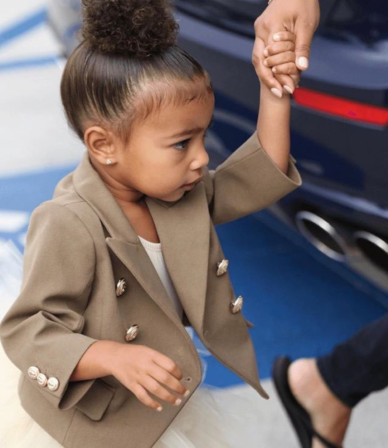 Wardrobe Breakdown: North West Headed To Dance Class