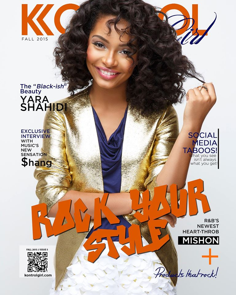 Yara Shahidi For 'Kontrol Girl' Magazine