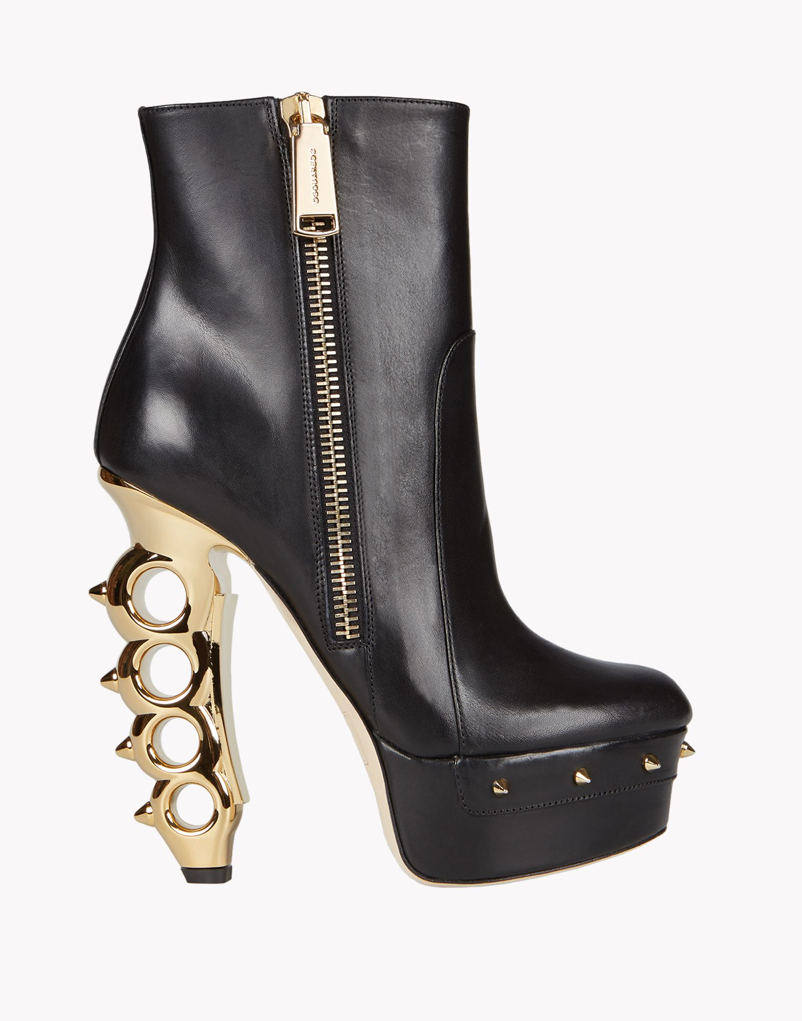 Currently Obsessed With: DSquared² Black Ankle Boot