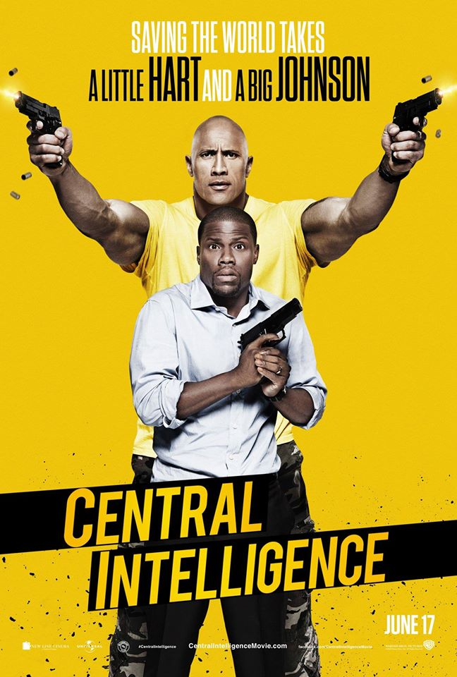 New Movie: Central Intelligence Starring Kevin Hart & Dwayne Johnson