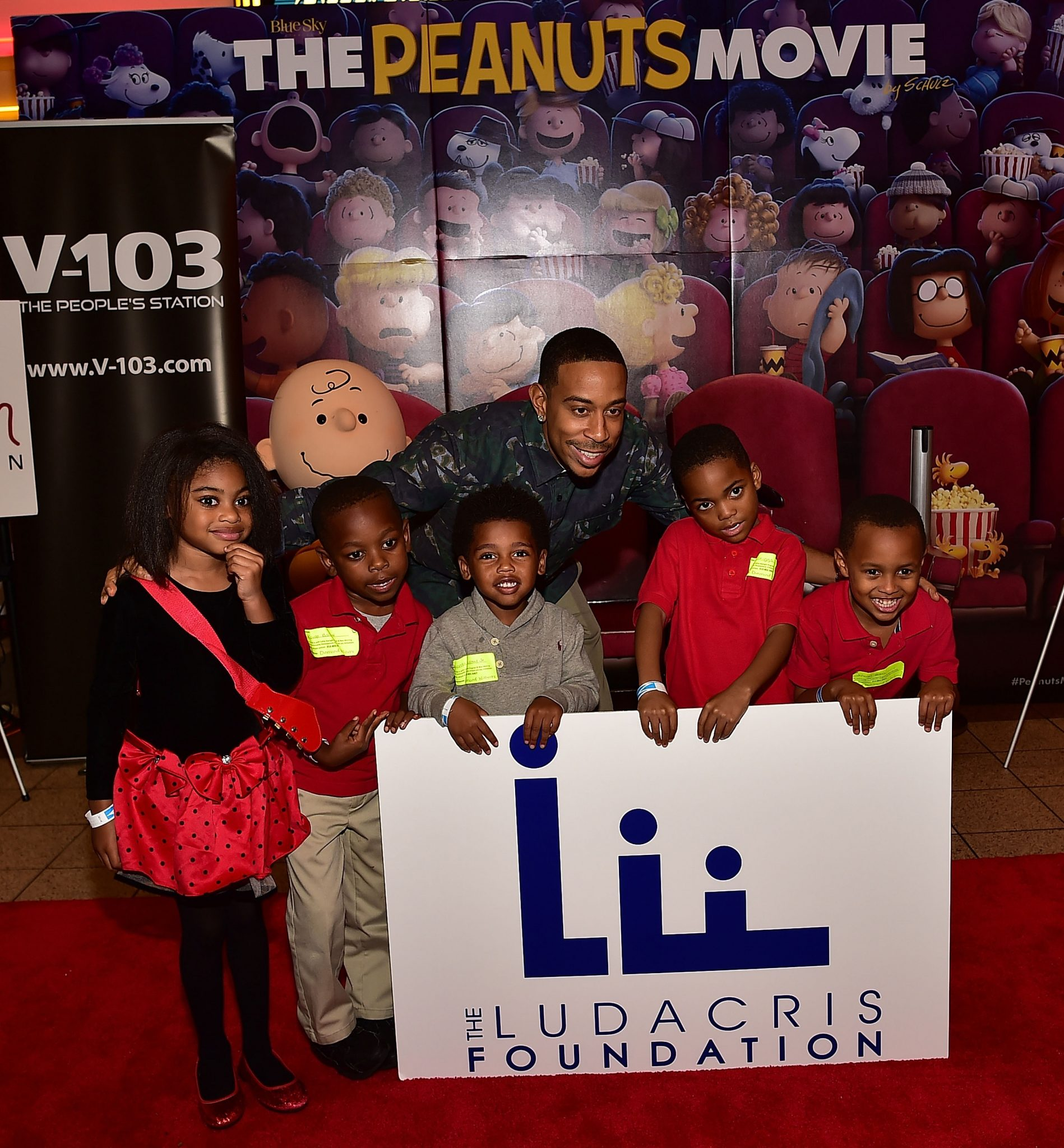 'The Peanuts Movie' VIP Red Carpet With Ludacris & Ryan Cameron Foundations