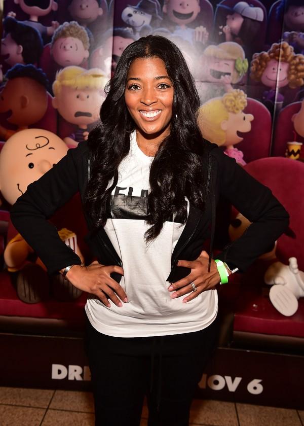 "ATLANTA, GA - NOVEMBER 03: TV personality Toya Bush-Harris attends 20th Century Fox's ""The Peanuts Movie"" VIP & Red Carpet Screening on November 3, 2015 in Atlanta, Georgia. (Photo by Paras Griffin/Getty Images for 20th Century Fox/Allied Integrated Marketing)"