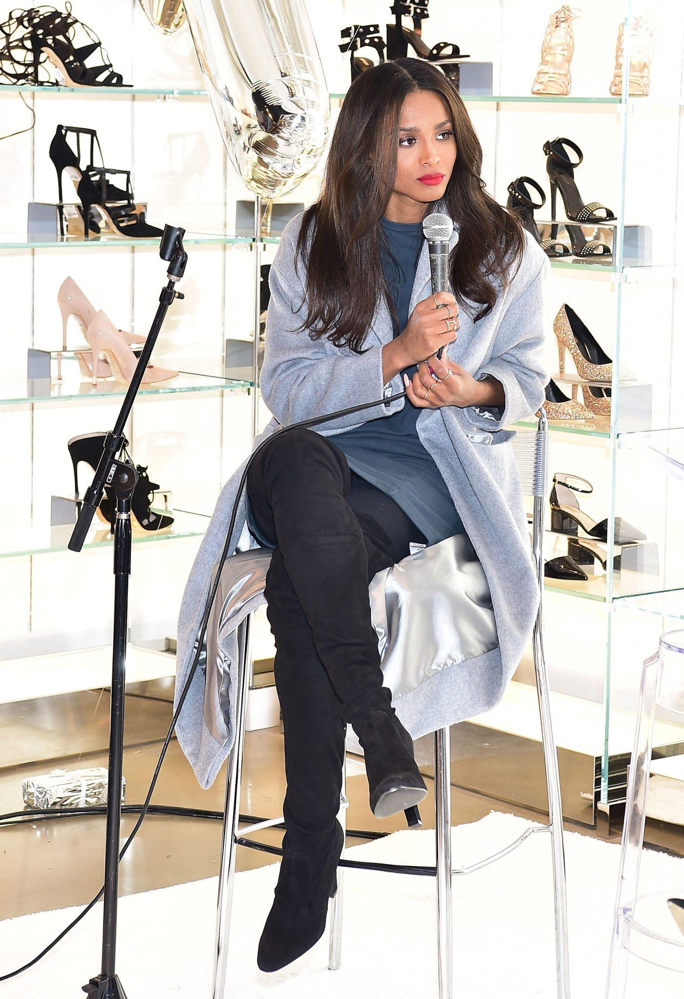 Ciara Stops By TopShop In Atlanta