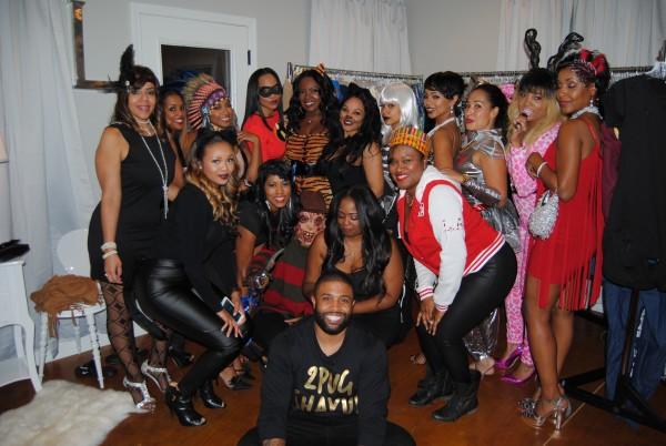 R.L. & Lena Halloween Party