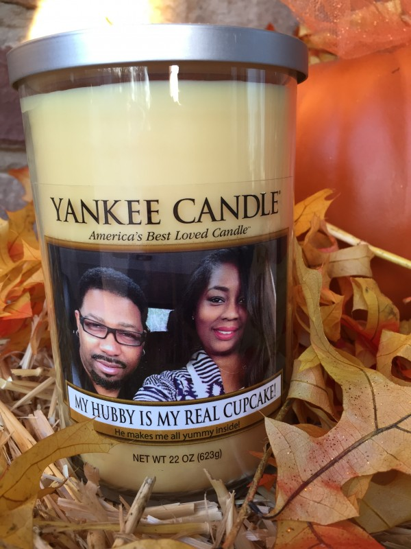 Gift Idea: Yankee Candle Personalized Photo Candles