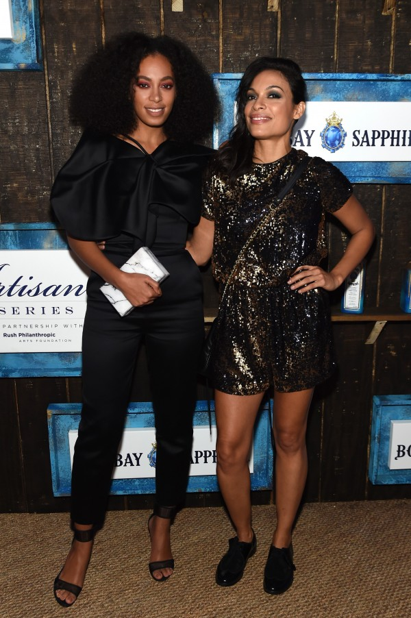 The 6th Annual Bombay Sapphire Artisan Series Grand Finale Cohosted By Russell Simmons And Rosario Dawson During Art Basel