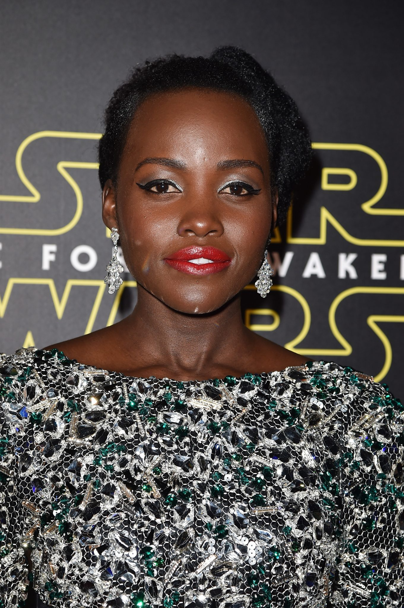 Get The Look: Lupita Nyong'o The Star Wars: Episode VII – The Force Awakens Los Angeles Premiere