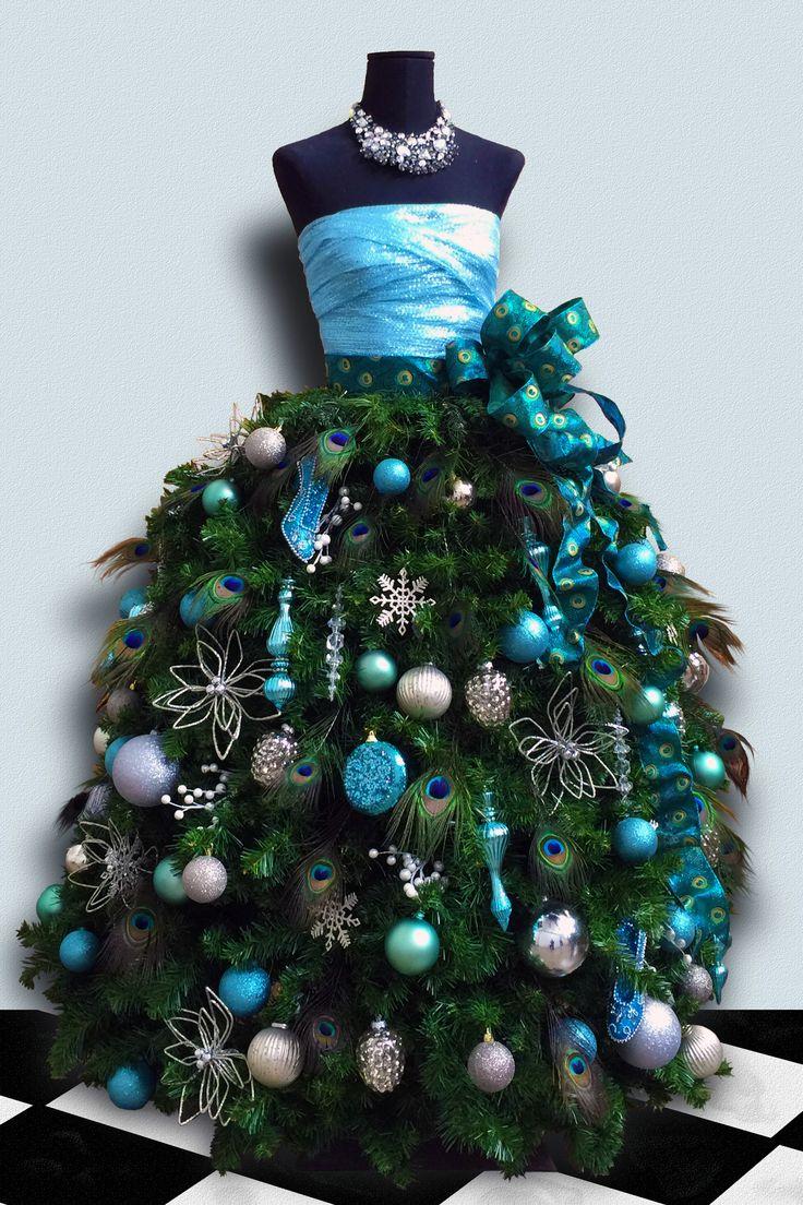 Нарядная новогодняя елка своими руками