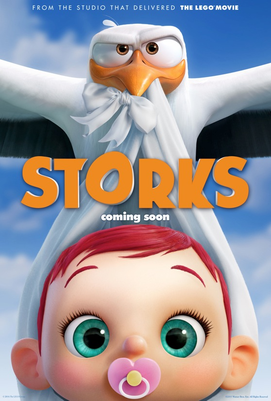 New Movie: 'Storks' Starring Andy Samberg & Kelsey Grammer