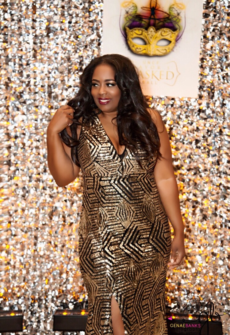 My Style: Chic and Curvy Sequins Dress