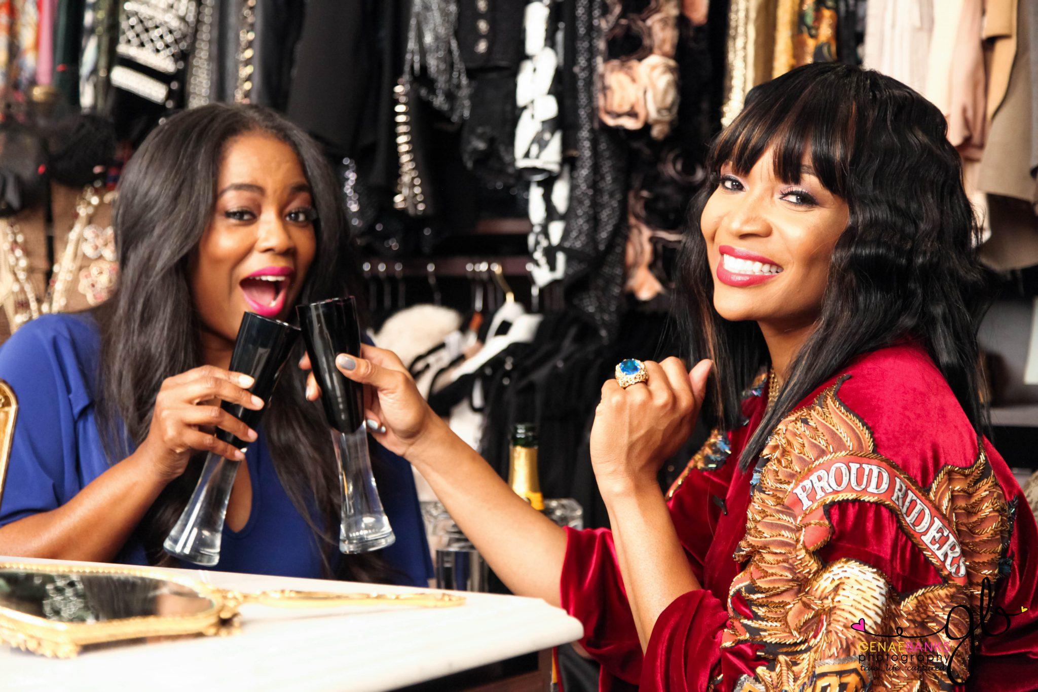 My Interview Inside Of Reality Diva Marlo Hampton's Closet!