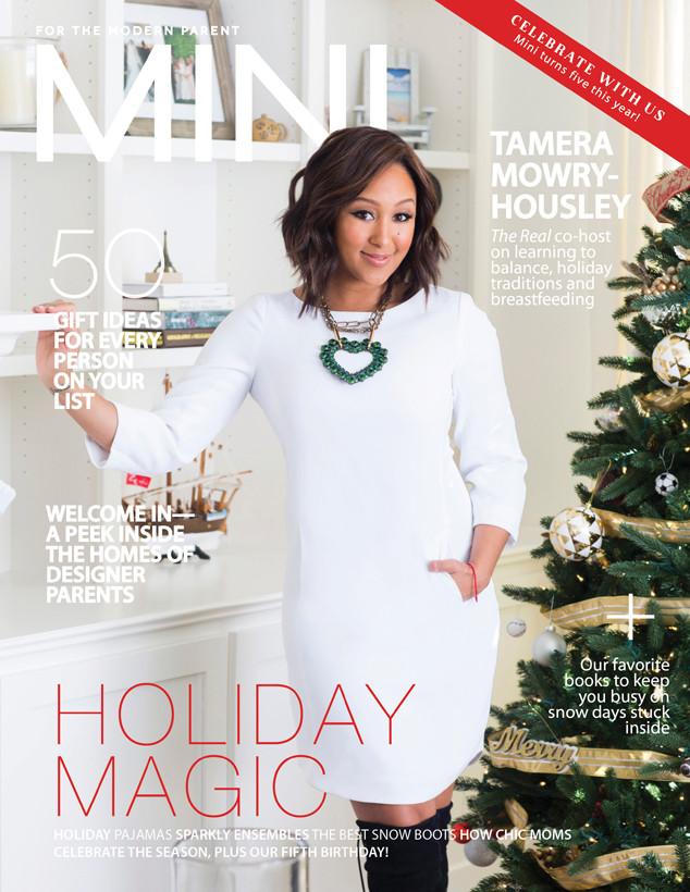 Tamera Mowry-Housley & Baby Ariah For 'Mini' Magazine