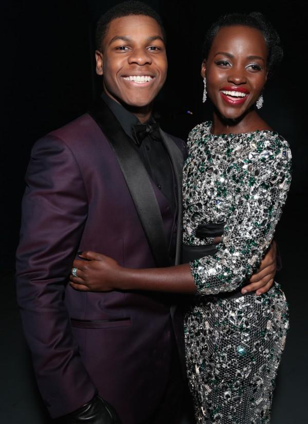 John Boyega, Lupita Nyong'o