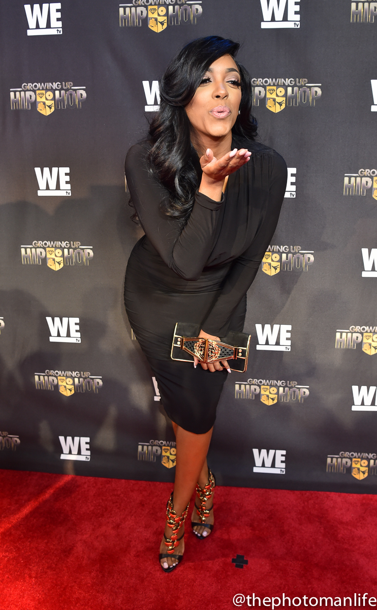 Wardrobe Breakdown: Porsha D. Williams At 'Growing Up Hip Hop' Premiere In ATL