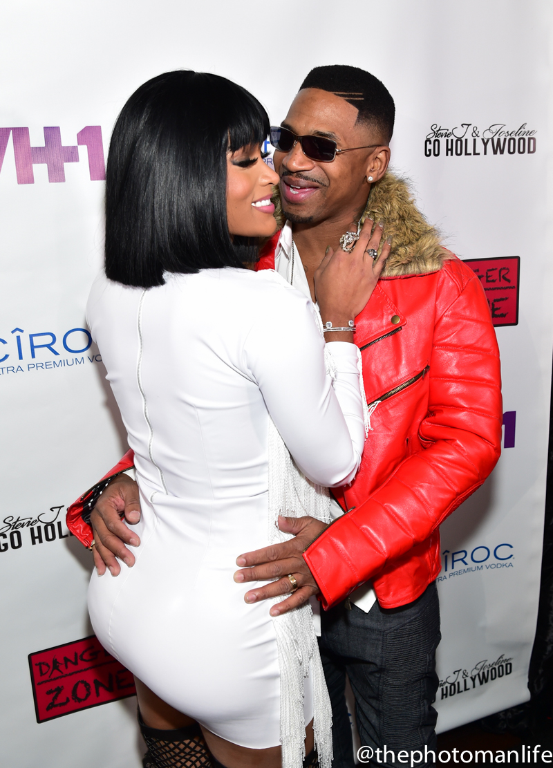 Stevie J & Joseline 'Go Hollywood' Viewing Party
