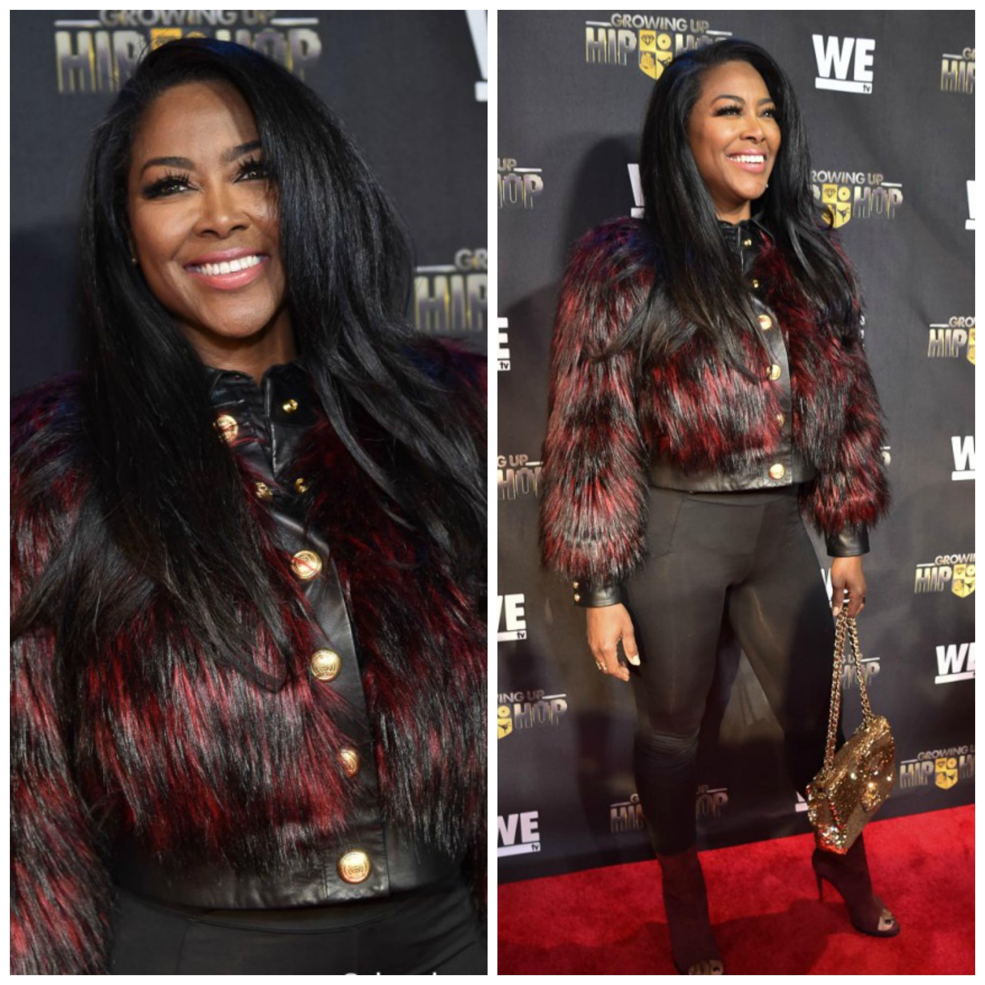 Wardrobe Breakdown: Kenya Moore At The 'Growing Up Hip Hop' Premiere In ATL