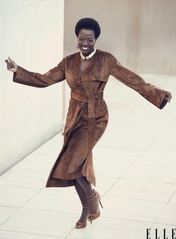 Viola Davis Elle