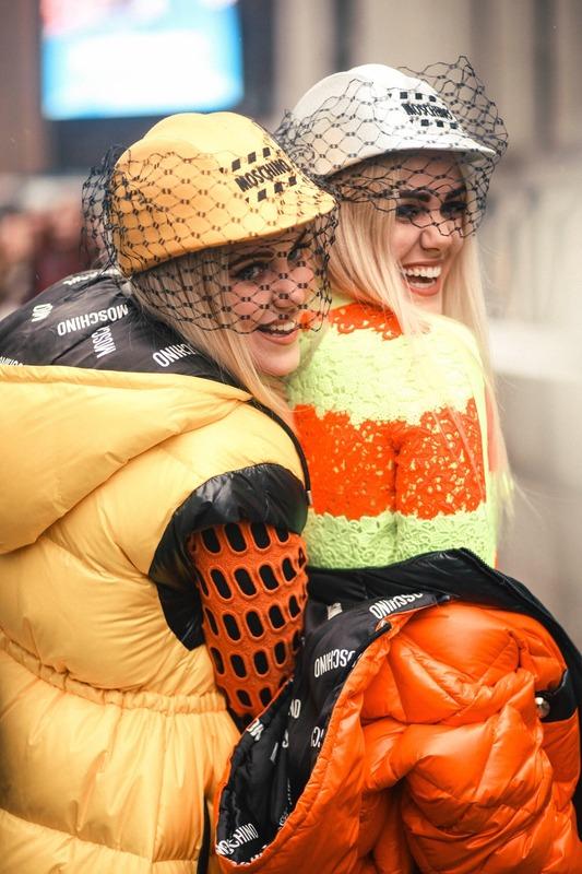 Wardrobe Breakdown: Beckerman Twins At New York Fashion Week