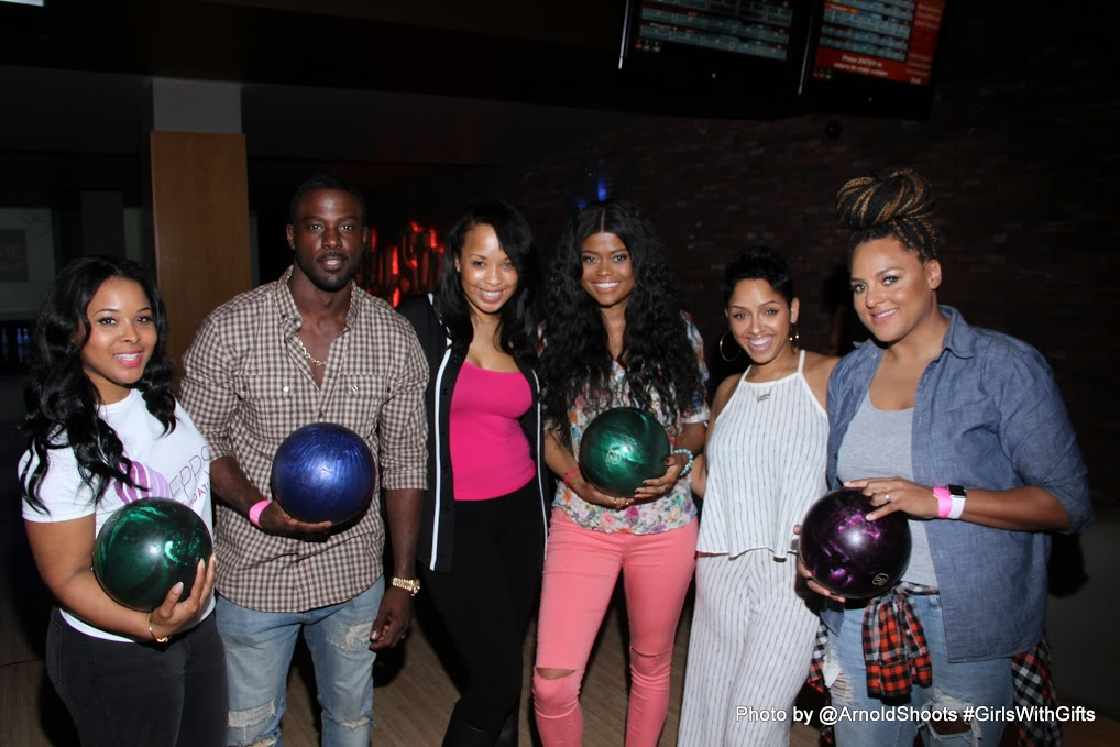 4th Annual 'Girls With Gifts' Bowling Event With Lance Gross, Marsha Ambroious And More!