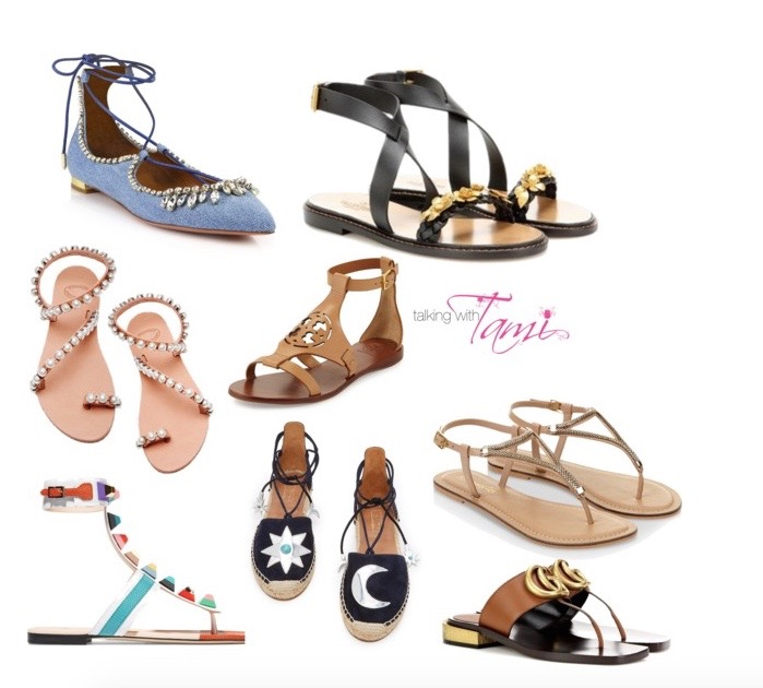 What To Wear: Cute Spring Sandals