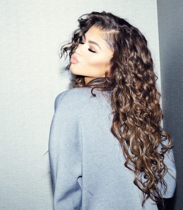 Get The Look Zendaya Coleman Shares Hair Beauty Care