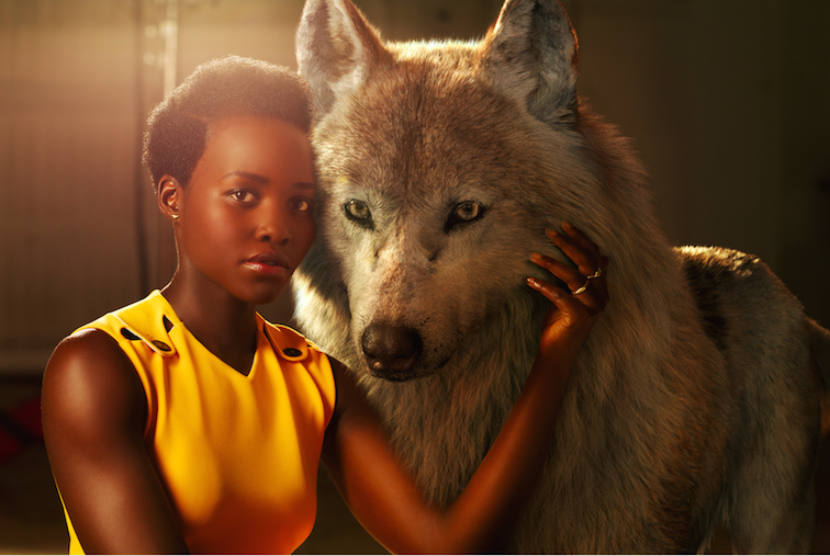 Lupita Nyong'o, Idris Elba, Scarlett Johansson For 'The Jungle Book'