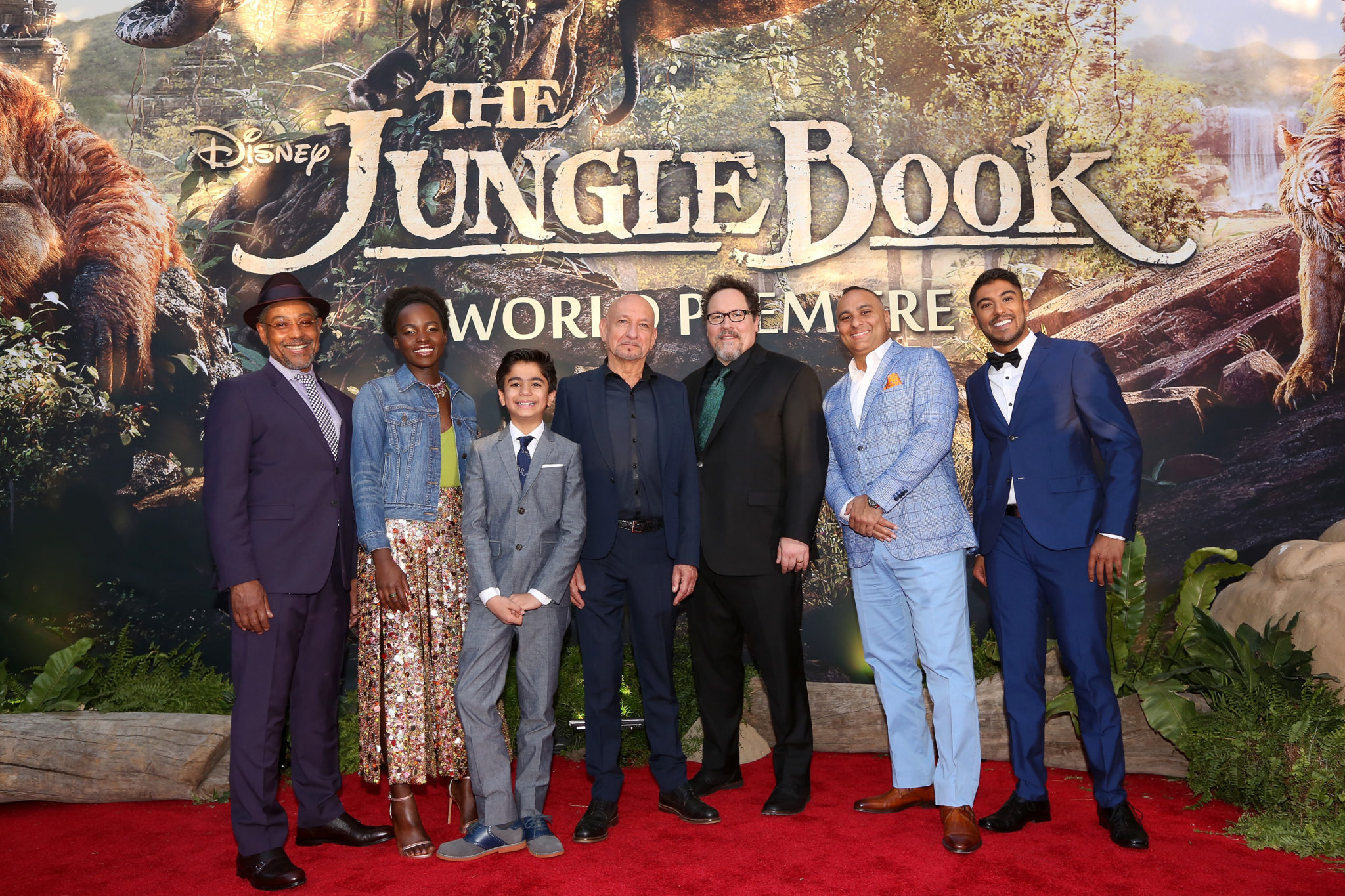 'The Jungle Book' Red Carpet World Premiere In Hollywood