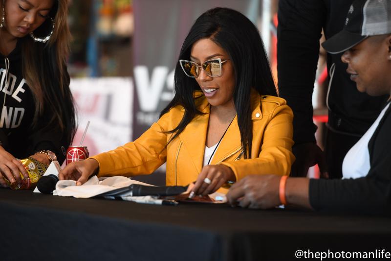 K Michelle CD Signing At DTLR In Atlanta