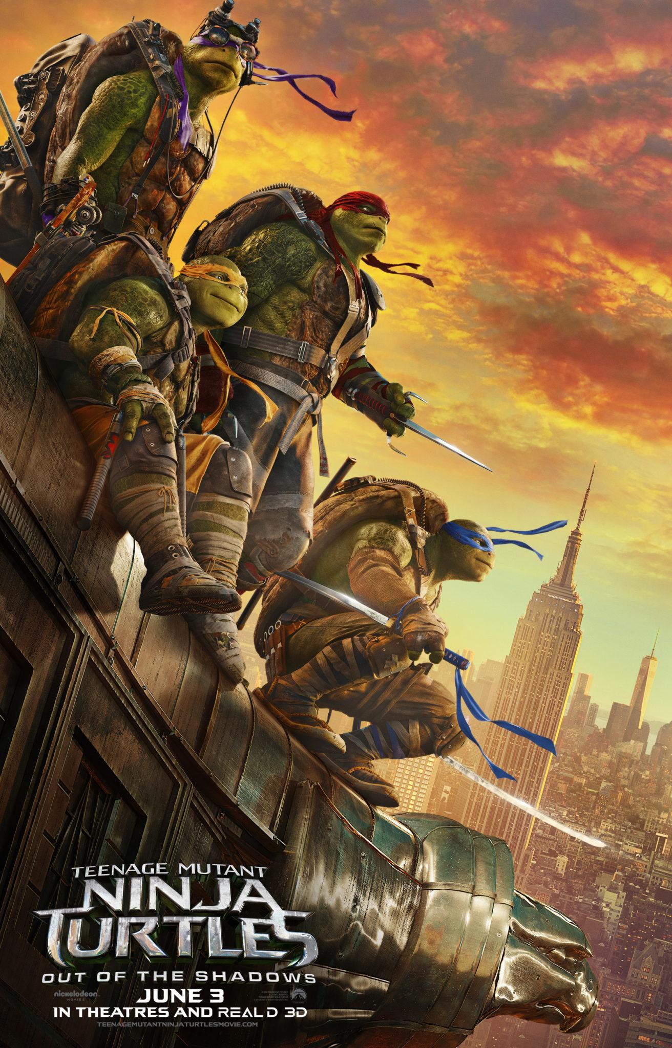 New Movie: Teenage Mutant Ninja Turtles: Out of the Shadows