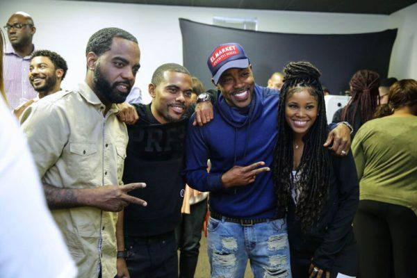 Atlanta Celebs Escape The Room At The Meet The Blacks