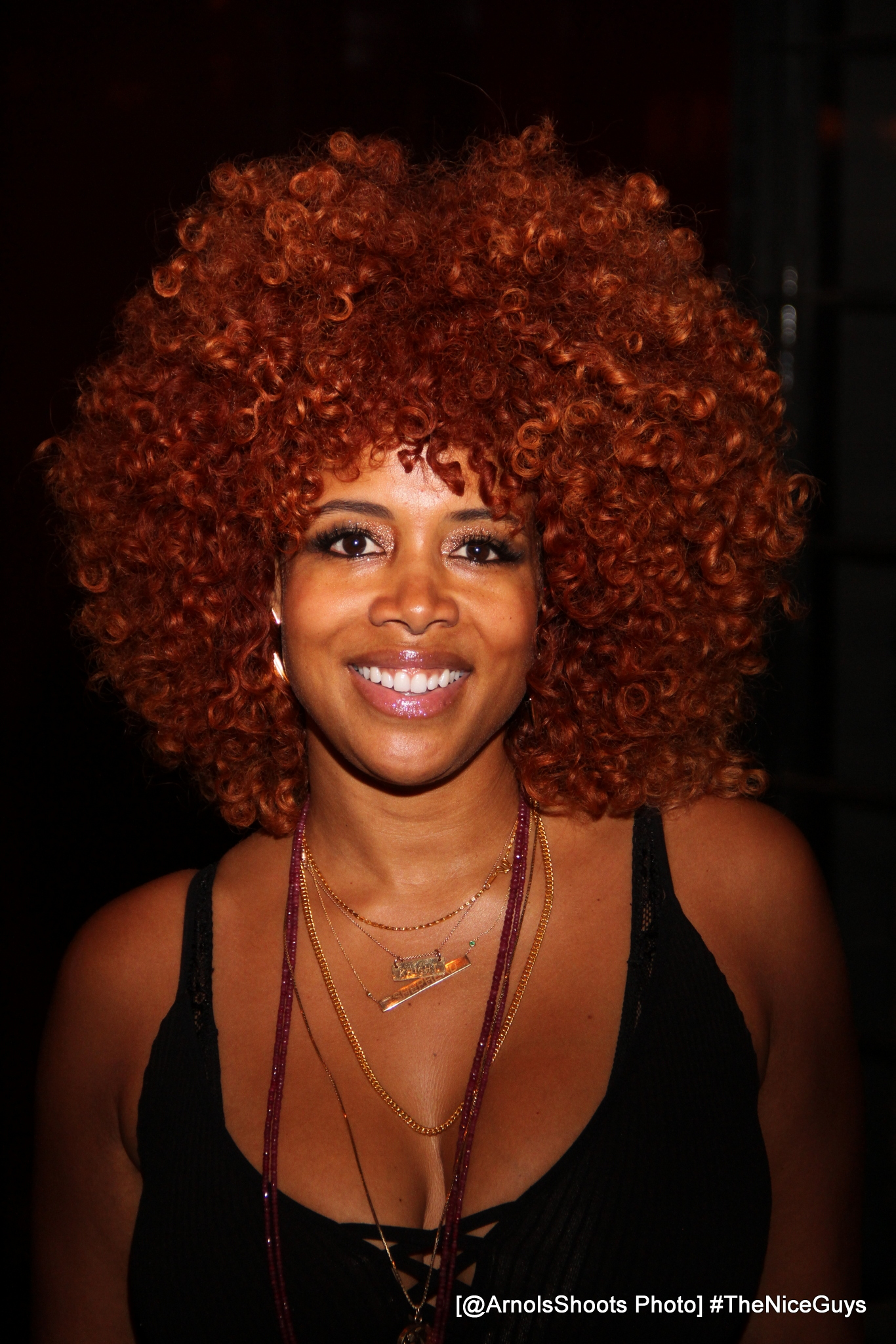 Kelis Hosted A VIP 70's Dinner And 'The Nice Guys' Movie Screening