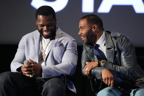 "Curtis ""50 Cent"" Jackson, Omari Hardwick"